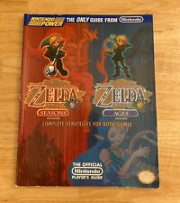The Legend of Zelda ORACLE OF SEASONS / AGES Strategy Guide - Nintendo Power