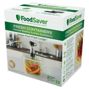 Commercial FoodSaver Food Preservation Vacuum Sealing Container