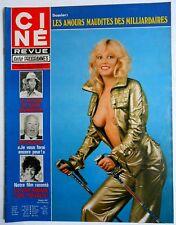 ►CINE REVUE 8/1978-MARLENE JOBERT-ROMY SCHNEIDER-FARRAH FAWCETT-BARBARA CARRERA