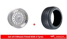 "Alloy Wheels & Tyres Wider Rears 17"" Dare DR-RS Merc CLK CLK55 AMG [A208/C208]"