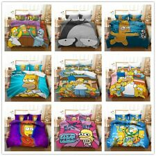 Funny The Simpsons Duvet/ Quilt Cover Sets Bedding Sets All Size