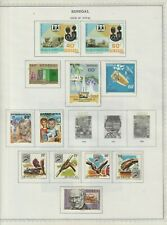 Senegal stamps (only), from 1979 - 80, all 12 are MHOG, VVF, SCV $20