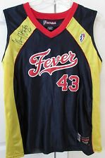 WNBA Indiana Fever #43 Alicia Thompson Signed Autographed Jersey Medium