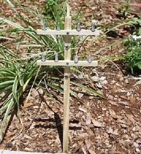 Miniature UTILITY POLES for G Scale Outdoor Railroads / Lineman / Garden /Graves