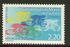 TIMBRE N° 2590 NEUF XX LUXE - CHAMPIONNAT DU MONDE DE CYCLISME