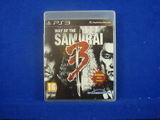 *ps3 WAY OF THE SAMURAI 3 (NI) Fighting Action Game Playstation PAL REGION FREE