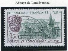 STAMP / TIMBRE FRANCE OBLITERE N° 2349 ABBAYE DE LANDEVENNEC