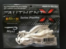 "B Fish N, Authent X, 4"" Moxie Ring, 8/pk, #4MR-142, Great White"