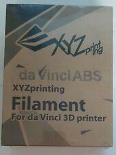 XYZprinting Filament ABS Natural 3D printer cartridge.