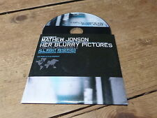 Mathew Jonson ‎– Her Blurry Pictures !!!! RARE PROMO CD !!!!!!!!!!!!!!!!!!!!