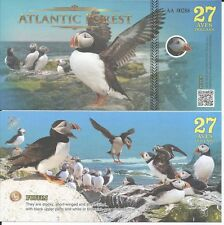 ATLANTIC FOREST BILLETE 27 AVES DOLLARS 2016