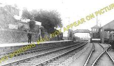 Leysmill Railway Station Photo. Friockheim - Colliston. Arbroath to Guthrie. (1)