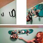 2x Universal Skateboard  Scooter Wall Hanger Rack Mount decks longboard display