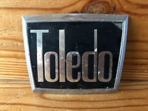 Vintage Triumph Toledo Car Badge Emblem Grill