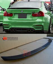 BMW 3 SERIES F30 4DR SALOON 3D TYPE BOOT LIP SPOILER | PU PLASTIC | UK STOCK