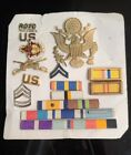 20+Armed+Forces+US+Military+Medals+Pins+Ribbons+ROTC+Drill+Team+Rank+Badges