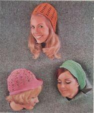 Girls Crochet Hats Patterns