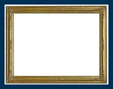 Rahmen - Spiegelrahmen - 19. Jh. - Holz, Ornamente Masse, vergoldet    (# 2677)