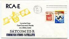 1982 RCA-E Satcom III-R Communication Satellite Cape Canaveral Florica Delta USA