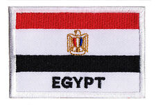 Ecusson patch transfert patche drapeau EGYPTE 70 x 45 mm à coudre
