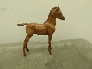 Custom Woodgrain Breyer Proud Arabian Foal