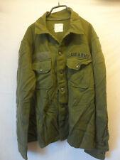 US Shirt,Cold Weather,Field Wool/Nylon Olive Green 108 Gr. Medium