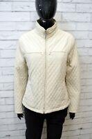 FILA Donna Giubbotto Giacca Imbottita Taglia 44 Giubbino Jacket Women's Beige