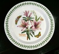 Beautiful Portmeirion Botanic Garden Lily Flowered Azalea Dinner Plate, As New