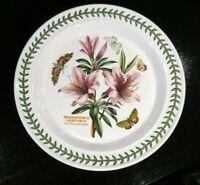 Beautiful Portmeirion Botanic Garden Lily Flowered Azalea Dinner Plate, As New
