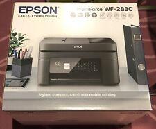 Epson Workforce Printer Wireless Black WF-2830 All-In-One New SAME DAY POST