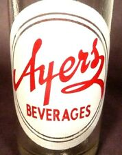 vintage ACL pop SODA bottle - AYRES of BOWLING GREEN, KY.   - 10 oz ACL