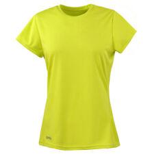 Spiro Ladies' Quick Dry Short Sleeve T-Shirt Tee Sports Running Wicking (S253F)