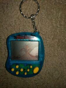 Vintage Dino War Pocket Game Keychain