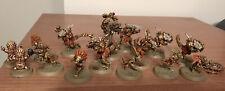 Blood Bowl Lizardmen Team Nicely Painted 13 Players w/Kroxigor PREORDER