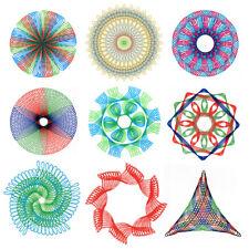27pcs Create Spirograph Design Set Tin Draw Drawing Kids Art Craft Education Toy