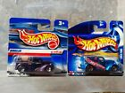 TWO x Hot Wheels Vintage Short Card - Ford Anglia Panel Vans