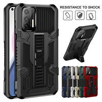 Hybrid Armor Case For Samsung Galaxy S21 Ultra S20 FE Note 20 Note10 Stand Cover