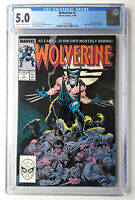 WOLVERINE #1 Marvel 1988 1st As Patch CGC 5.0