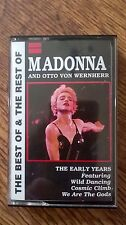 Rare Madonna And Otto Von Wernherr The Early Years Uk Cassette