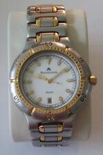 Herrenarmbanduhr Maurice Lacroix, Armbanduhr silber/vergoldet 92266, Uhr ca 1988