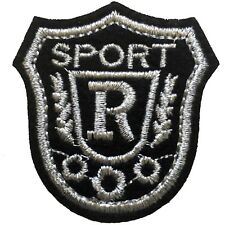Sport badge iron on patch - sports emblem embroidery iron-on transfer patches