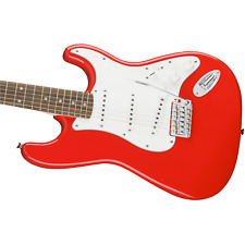 Fender Squier Affinity Series Stratocaster Guitar LRL (Race Red)