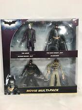 BATMAN Dark Knight Scarecrow Joker Multipack Action Figure Set By Mattel