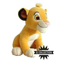 IL RE LEONE SIMBA PELUCHE GRANDE 26 CM pupazzo figure mufasa The Lion King nala