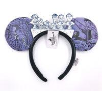 Disney Parks Halloween Haunted Mansion 50th Singing Busts Minnie Ears Headband