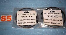 2 segments cote 72.00mm KTM SX 300 / EXC 300 de 1994/2003 54630332000 neuf