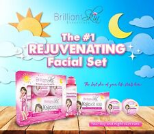Brilliant Skin Essentials Rejuvenating Facial Set - Exp 2020 - Good for Acne