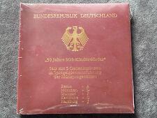 "5 x 10 DM Gedenkmünzen-Set  "" 50 Jahre SOS Kinderdörfer  "" PP Proof Spgl."