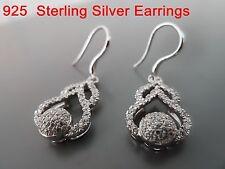 100% 925 Sterling silver earrings. Quality AAAAA grade CZ.Micro-insert process29