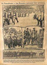 Transylvanie austro-hongroise Austro-Hungarian Transylvania Artillerie WWI 1916